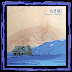 """Blurry Blue Mountaint"" - Fire Blue Vinyl LP"